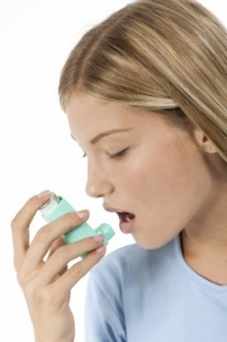 Allergic asthma and its symptoms eg. allergic cough