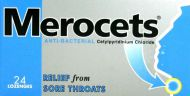 Merocets lozenges 1.4mg 24 pack